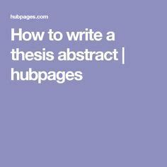 How to Write a Thesis - School of Physics